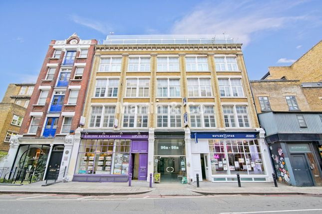 Thumbnail Flat for sale in Curtain Road, London