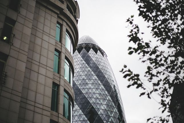 The Gherkin of Commercial Street, London E1
