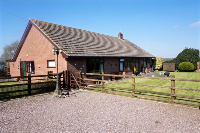 Thumbnail Equestrian property for sale in Hollins Lane, Tilstock