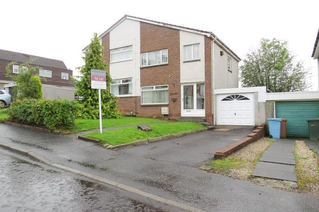 Thumbnail Semi-detached house to rent in Kenneth Road, Motherwell