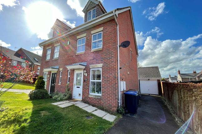 Thumbnail Semi-detached house to rent in Jubilee Drive, Earl Shilton, Leicester