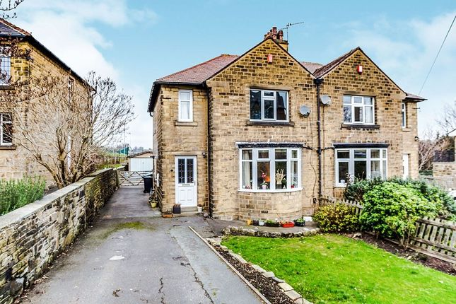 Thumbnail Semi-detached house for sale in Woodside Road, Beaumont Park, Huddersfield