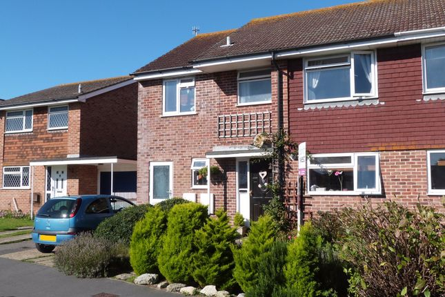 Thumbnail Semi-detached house for sale in Gainsborough Drive, Selsey, Chichester