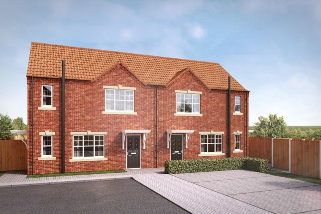 Thumbnail Flat for sale in Churchill Road, Yaddlethorpe Grange, Scunthorpe