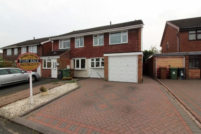 Thumbnail Semi-detached house for sale in Martin Drive, Willenhall
