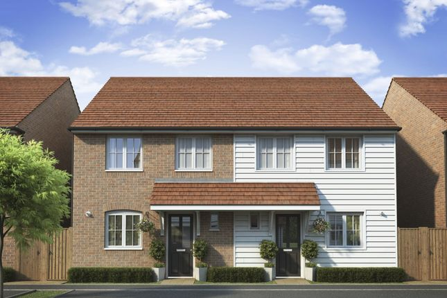 """Thumbnail Semi-detached house for sale in """"Barwick"""" at Dymchurch Road, Hythe"""