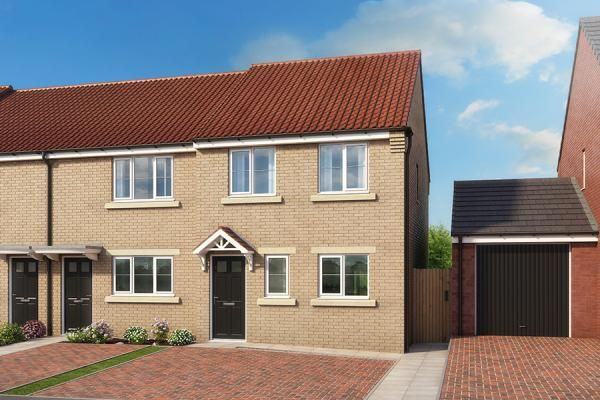 "Thumbnail Property for sale in ""The Hawthorn At High Farm"" at Off Trunk Road, Normanby, Middlesbrough"