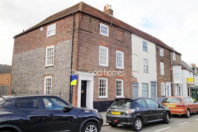 Thumbnail End terrace house for sale in High Street, St. Lawrence, Ramsgate