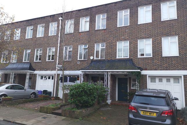 Thumbnail Town house for sale in St. Mary Abbots Terrace, Kensington