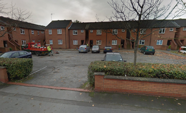 Thumbnail Flat to rent in Teignmouth Court, Charles Lovell Way, Scunthorpe