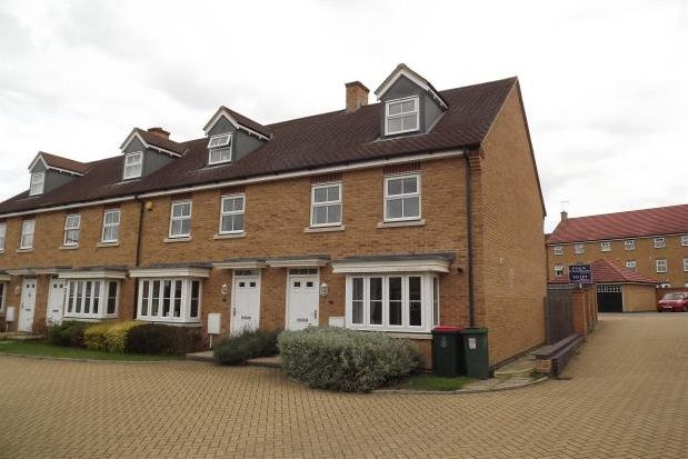 Thumbnail End terrace house to rent in Heathcotes, Maidenbower, Crawley