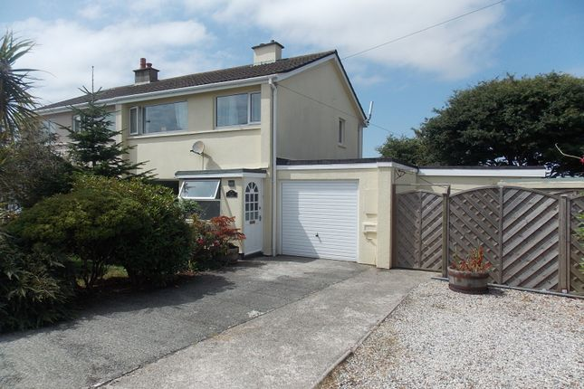 Thumbnail Semi-detached house for sale in Bosmeor Park, Illogan Highway, Redruth
