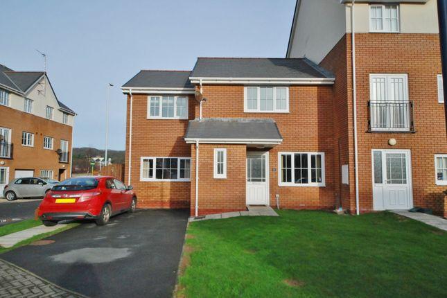 Thumbnail Semi-detached house to rent in Clos Gerallt, Llanbadarn Fawr, Aberystwyth