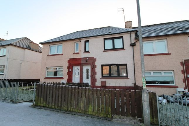 Thumbnail Terraced house to rent in Clapperhowe Road, Motherwell, North Lanarkshire