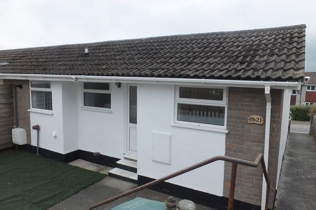Thumbnail Terraced bungalow to rent in Belmont Park, Pensilva