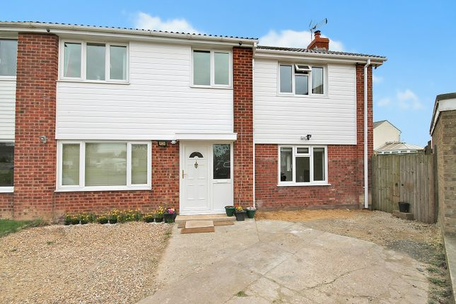 Thumbnail Semi-detached house for sale in Wellington Close, West Row