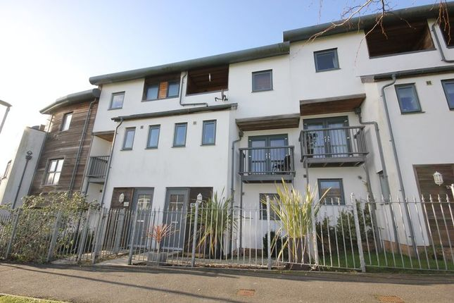 Thumbnail Terraced house for sale in Endevour Court, Stoke, Plymouth