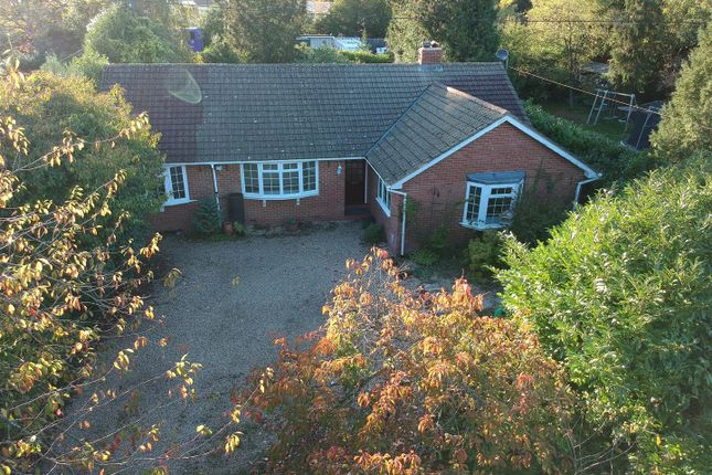 Thumbnail Detached bungalow for sale in Broad Halfpenny Lane, Tadley