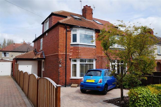Thumbnail Property to rent in Moorgarth Avenue, York