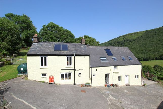 Thumbnail Detached house for sale in Dyffryn Crawnon, Llangynidr, Crickhowell