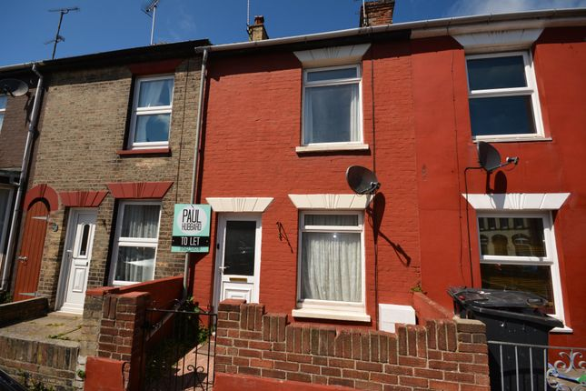 Thumbnail Terraced house to rent in Alma Road, Lowestoft, Suffolk