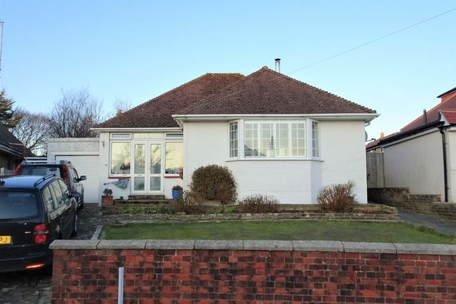 Thumbnail Detached bungalow for sale in Hazelhurst Crescent, Findon Valley, Worthing
