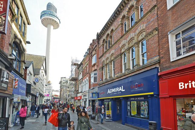 Thumbnail Retail premises for sale in Richmond Street, Liverpool