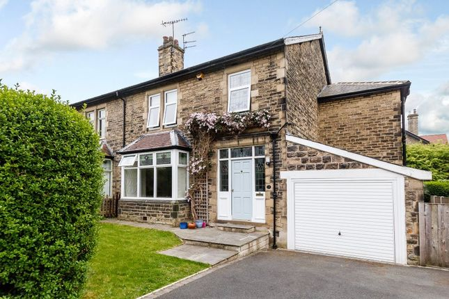 Thumbnail Semi-detached house for sale in Bankfield Drive, Shipley, West Yorkshire