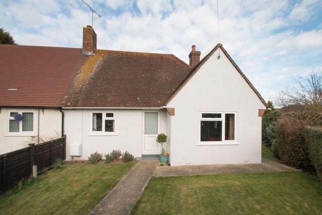 Thumbnail Semi-detached bungalow for sale in Gaston Way, Lavant, Chichester