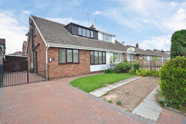 Thumbnail Semi-detached bungalow for sale in St Marys Avenue, Altofts, Normanton