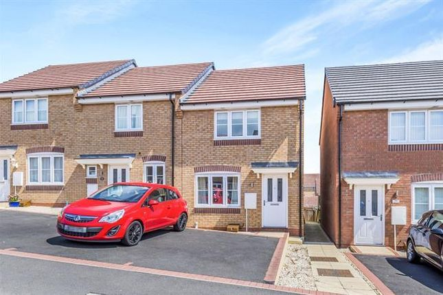 Thumbnail Town house for sale in Lamphouse Way, Wolstanton, Newcastle-Under-Lyme