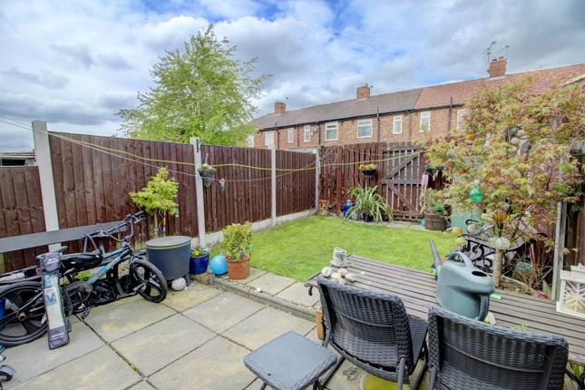 Rear Garden of Prince Edward Avenue, Denton, Manchester M34