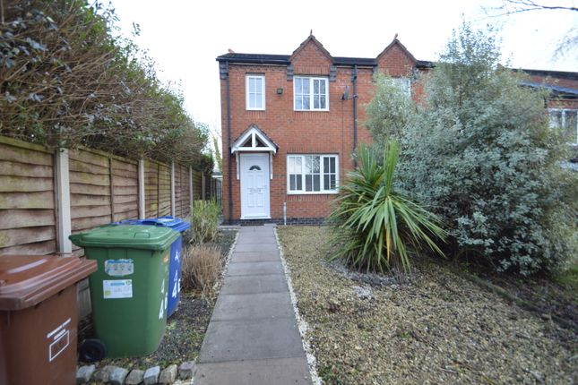 Thumbnail Semi-detached house to rent in Bromley Close, Hednesford
