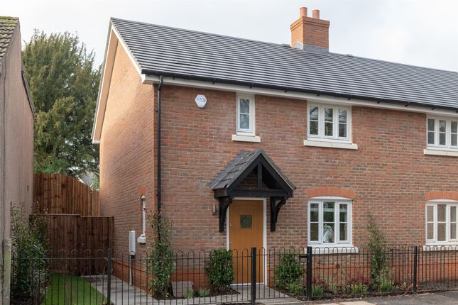 Thumbnail Semi-detached house for sale in Hackwood Road, Basingstoke