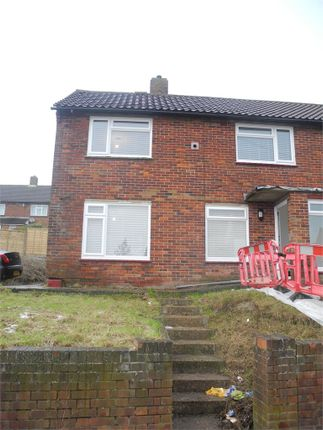 Thumbnail End terrace house to rent in George Gurr Crescent, Folkestone