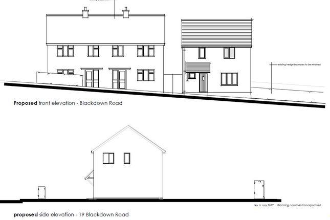 Thumbnail Land for sale in Blackdown Road, Portishead, Bristol