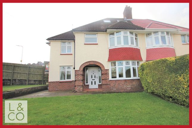 Thumbnail Semi-detached house to rent in Beaufort Road, Newport