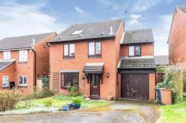 Thumbnail Detached house for sale in Bracken Close, Boley Park, Lichfield, Staffordshire