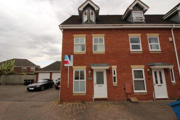Thumbnail Town house to rent in Caliban Mews, Heathcote, Warwick