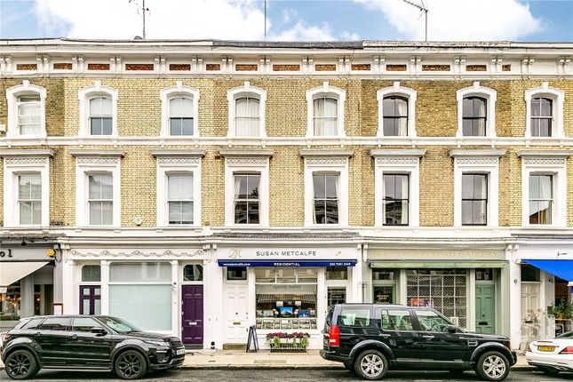 External of Hollywood Road, Chelsea, London SW10