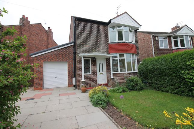 Thumbnail Detached house to rent in Ambleside Road, Flixton, Urmston, Manchester