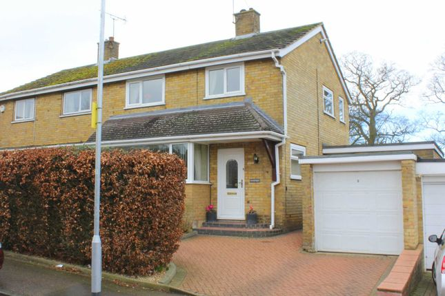 3 bed semi-detached house for sale in Extended With Country Side Views, Garage, Driveway In