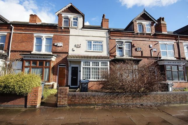 Thumbnail Terraced house for sale in Pershore Road, Selly Park, Birmingham
