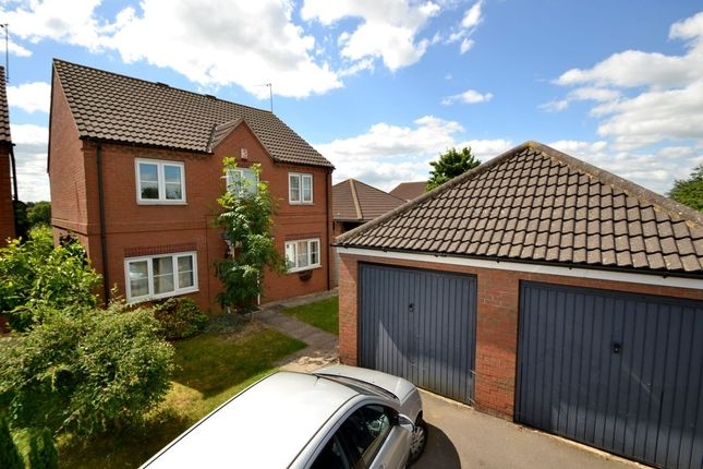 Thumbnail Detached house for sale in Auckland Close, Kingsthorpe, Northampton