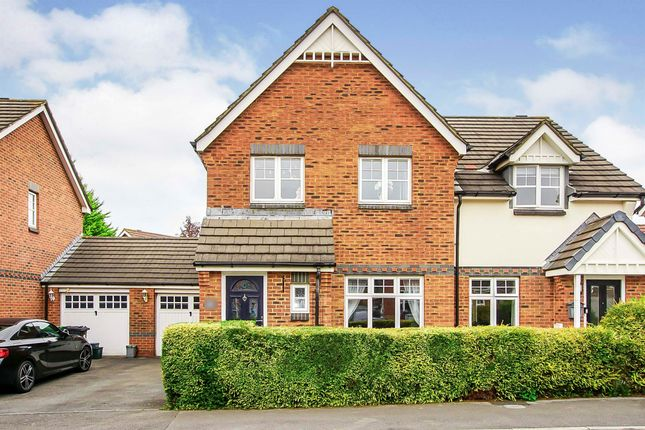 Thumbnail Semi-detached house for sale in Cave Grove, Emersons Green, Bristol