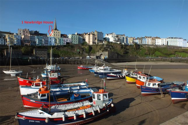 Thumbnail Terraced house for sale in Sea House, Crackwell Street, Tenby