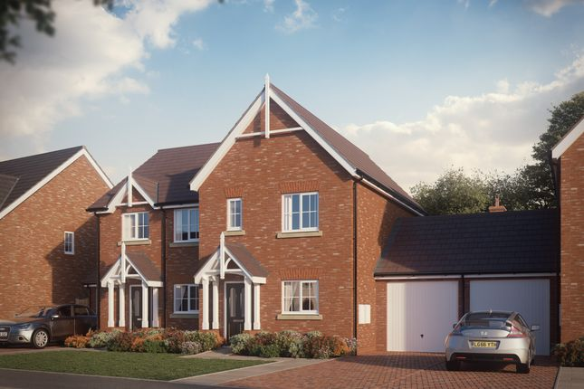 Thumbnail Semi-detached house for sale in Off Shrewsbury Road, Hadnall