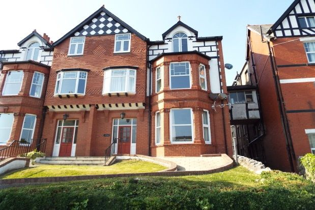 Thumbnail Flat to rent in Whitehall Road, Rhos On Sea, Colwyn Bay