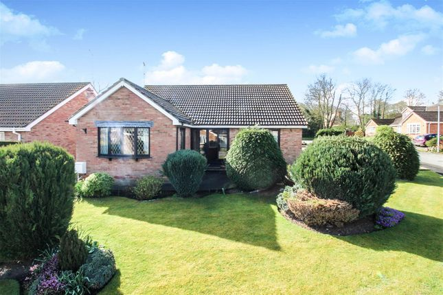 Thumbnail Detached bungalow for sale in St. Peters Close, Hutton, Driffield