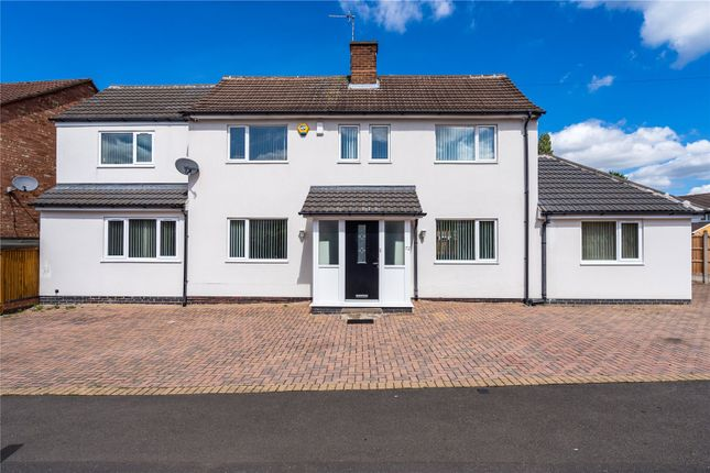 Thumbnail Detached house for sale in Rosemead Drive, Oadby, Leicester, Leicestershire